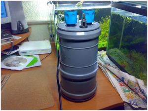 Из чего сделать внешний фильтр для аквариума своими руками