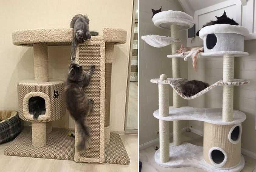 Домик для кошки своими руками — несколько интересных идей
