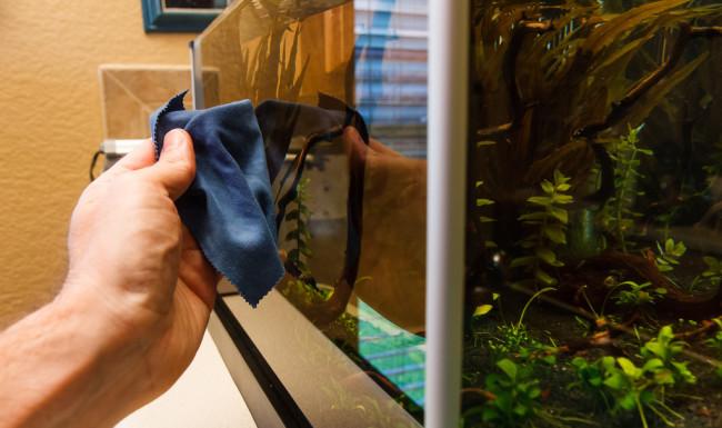 Как чистить аквариум в домашних условиях