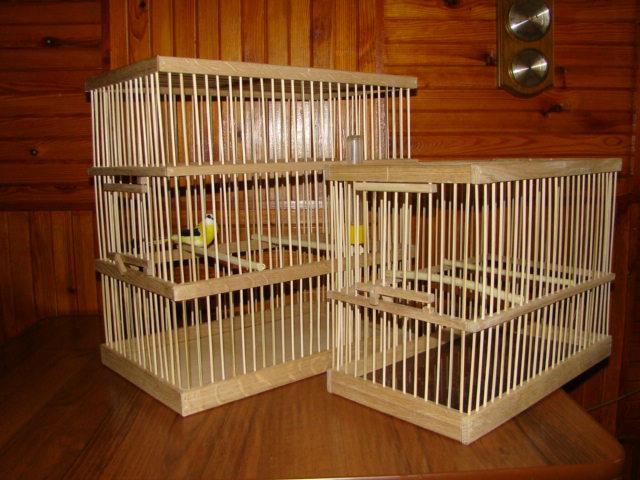 Сделайте клетку для попугая сами!