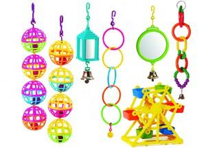 Способы изготовления игрушки попугаю из колец
