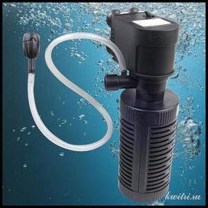 Для больших аквариумов нужен мощный фильтр.